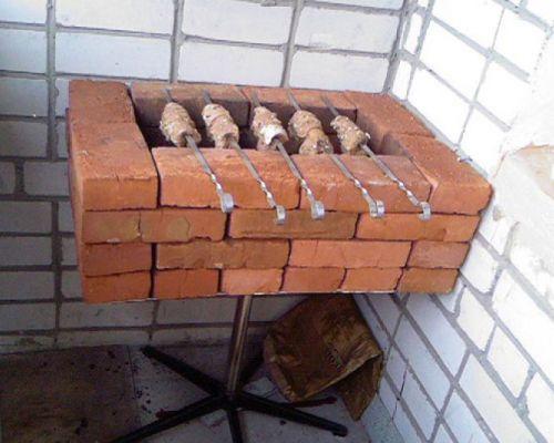 Простейшая конструкция гриля