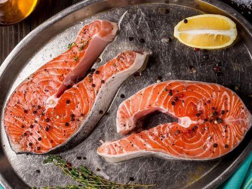 Рыбные стейки