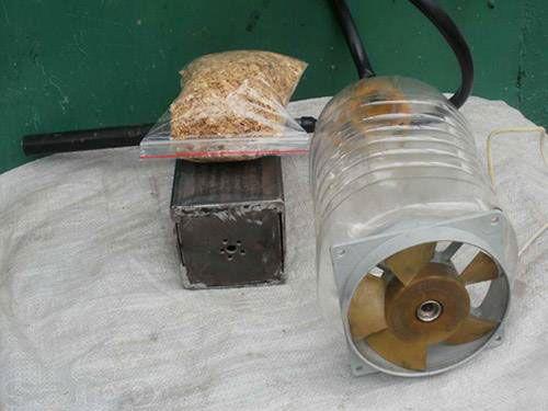 Дымогенератор из бытового вентилятора