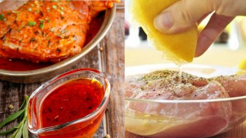 Маринование курицы апельсиновым соком