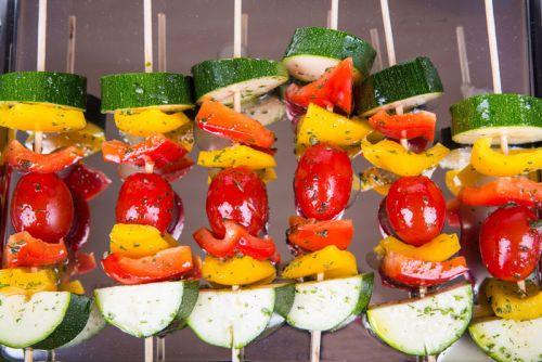 Шаклык из овощей