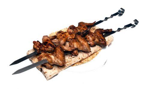 Шашлык из куриных крыльев