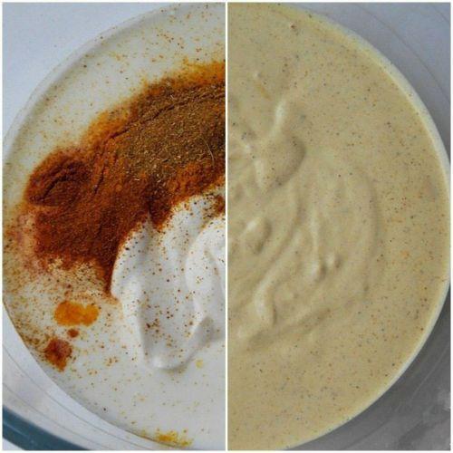 Приготовление шаурмы с красным перцем
