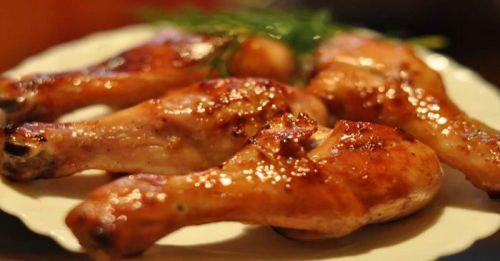 Курица, приготовленная в маринаде по-пекински