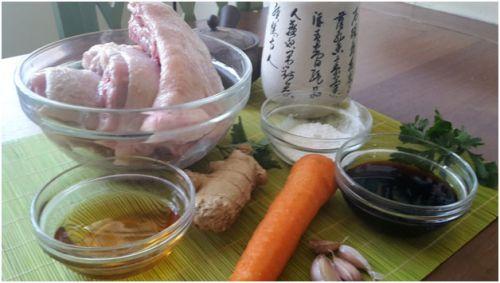 Маринад для шашлыка с имбирем и соевым соусом