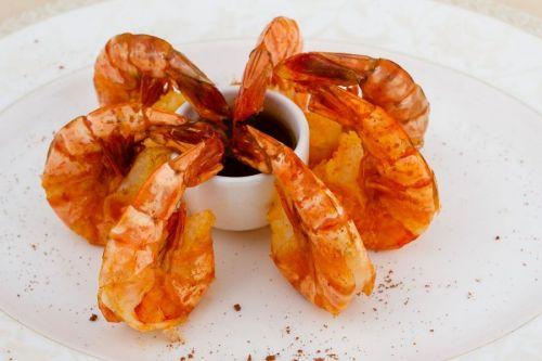 Креветки с соевым соусом