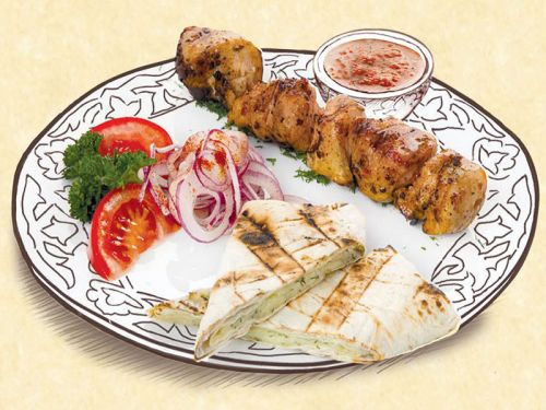 Шашлык куриный по-узбекски