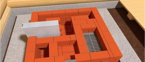 Сооружение мангала из кирпича