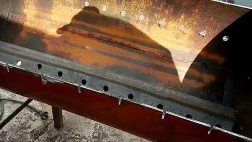 Отверстия для шампуров