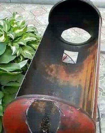 Отверстия для дымоотведения