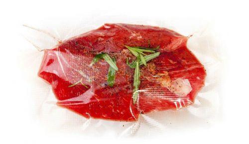 Маринование мяса в вакуумном пакете