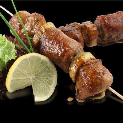 Шашлыки из свинины по-японски