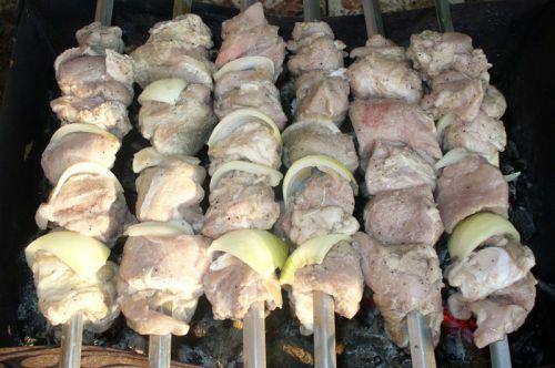 Шашлыки из свинины