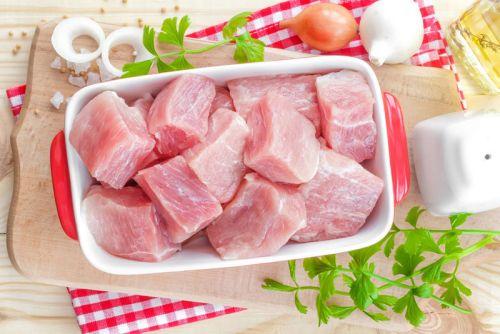 Куски мяса для шашлыка