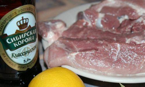 Свинина и пиво