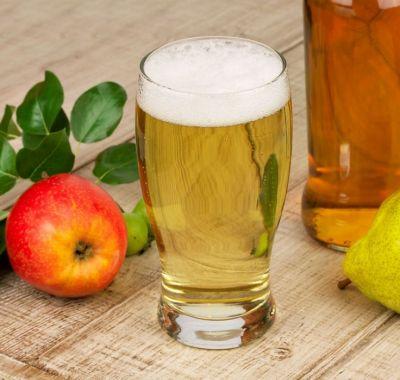 Пиво и яблоко