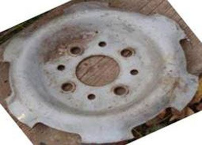 Перегородка колесного диска