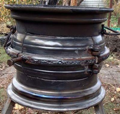 Скрепление колесных дисков