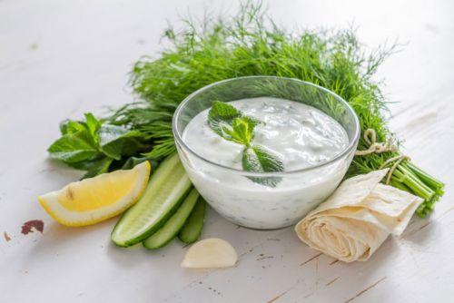 Белый соус к шашлыку