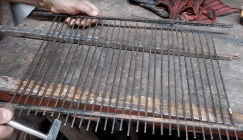 Самодельная решетка для барбекю