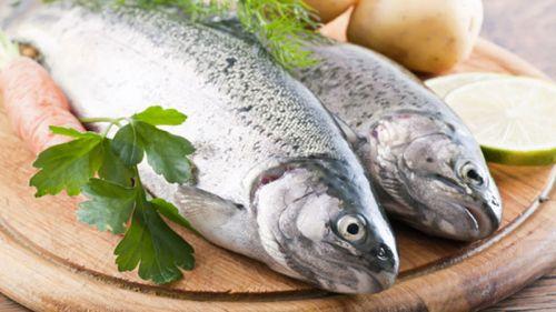 Свежая рыбы