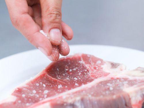 Соление мяса