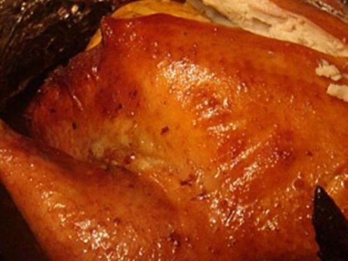 Курица в глазури
