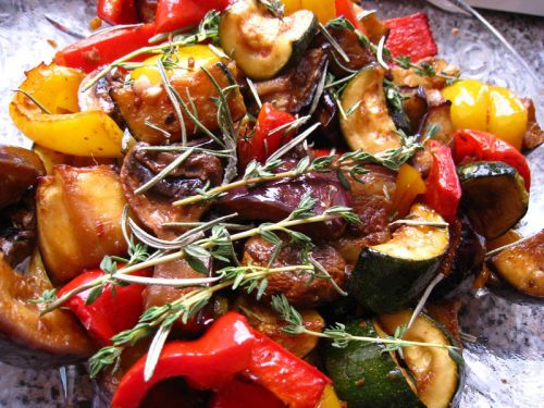 Маринование овощей для мангала