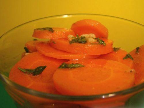 Морковь в маринаде
