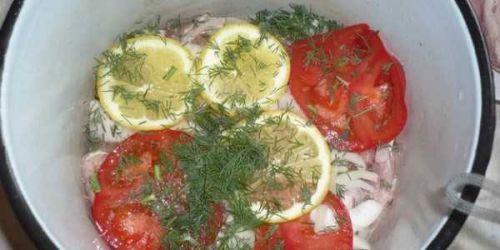 Маринад с помидорами