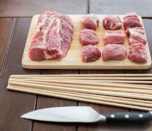 Нарезание мяса