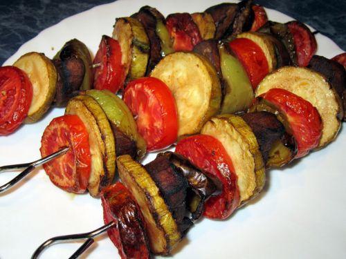Шашлыки из овощей