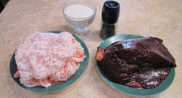 Печень и жировая сетка