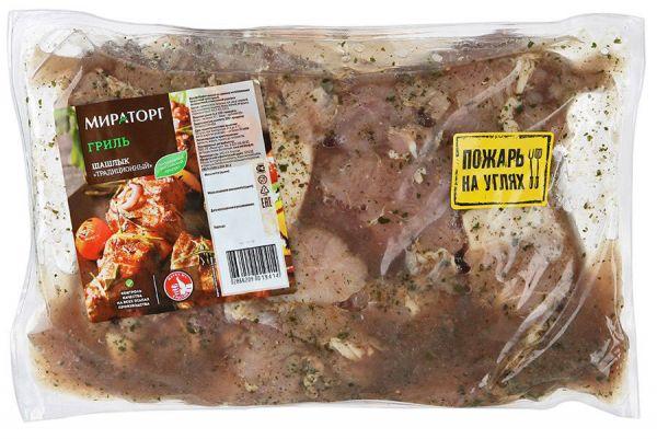 Шашлык из свинины от Мираторг