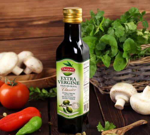 Оливковое масло, грибы, овощи