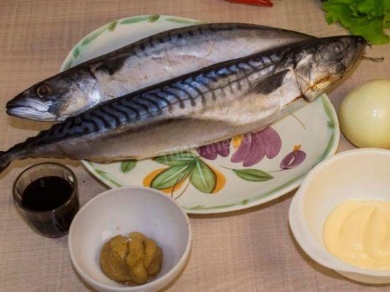 Ингредиенты для маринада для рыбы