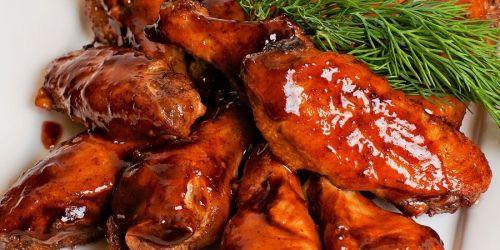 Курица в медовом маринаде