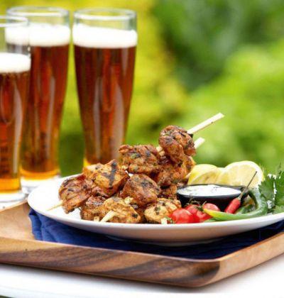Шашлыки и пиво