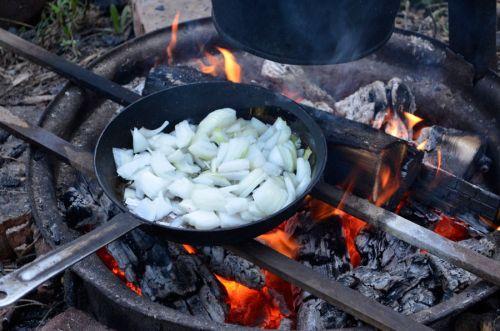 Обжаривание лука