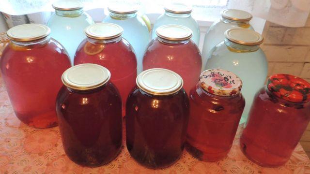 Березовый сок с шиповником