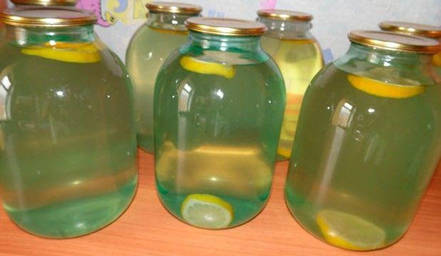 Березовый сок с апельсинами