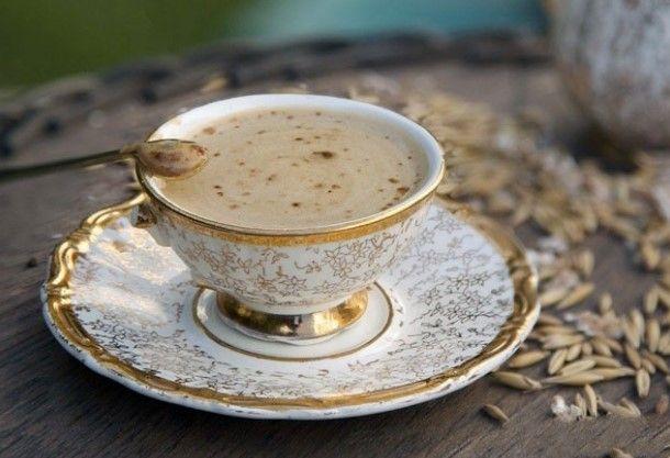 Ячменный кофе на основе березового сока