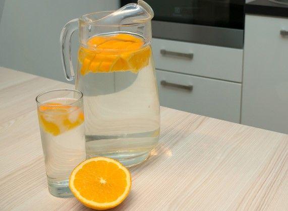 Консервированный сок с апельсином