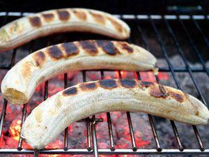 Банан на решетке