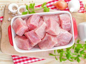 Мясо кусками