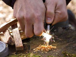 Добывание огня без спичек