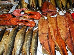 Рыба для копчения в коптильне какая лучше