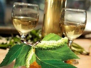 Вино из березового сока