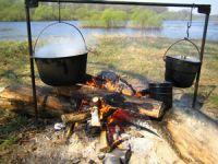 Приготовление пищи на костре