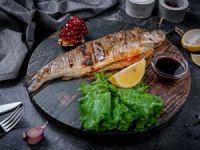 Рыба, приготовленная на углях